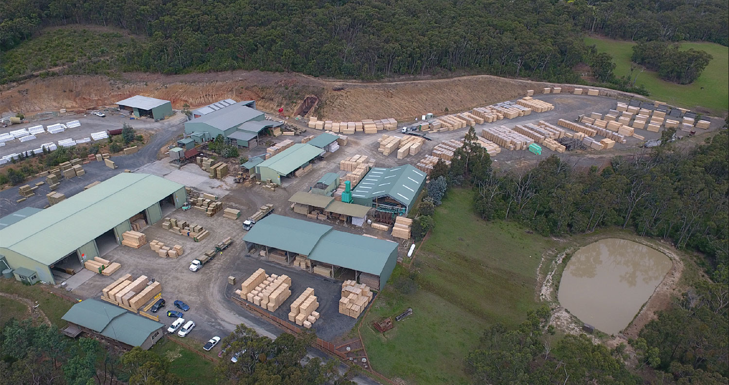 Aerial Photo of Woori Yallock Site