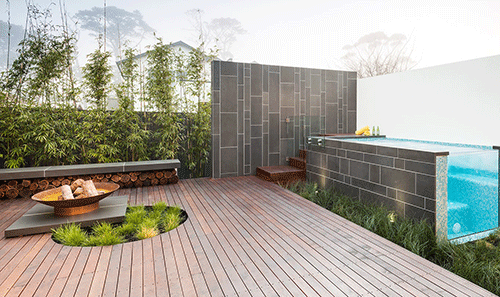 Merbau and Pine Decking
